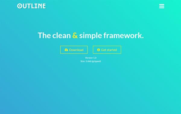 留白设计是一种高端艺术,要懂得在网页设计中运用负空间