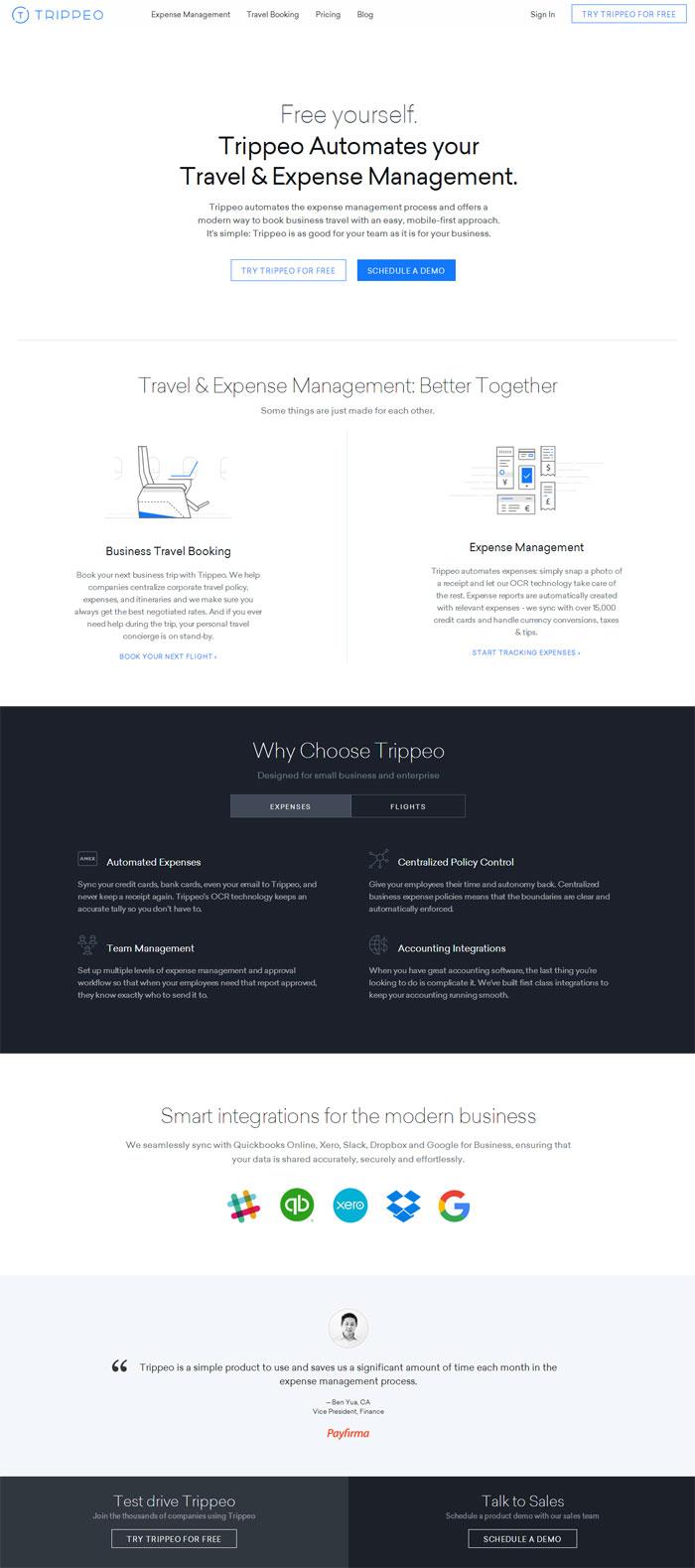 一款创意摄影app的宣传网站着陆页 怎么样,这些出自国外 ui 设计师之